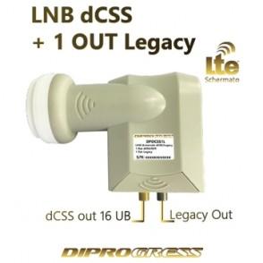 LNB dcss/scr 16 UB + 1 Out...