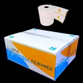 10x Rotolo POS in carta termica mm 57x10 mtl