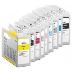 80ML Pigmento compa SC-P800DES,P800SE,P800SP-Light Black