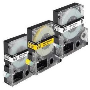 Yellow 9mmX8m for LW300,LW400,LW600,LW700,LW900