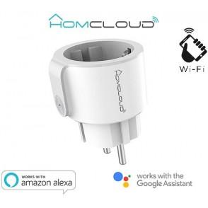 Presa Intelligente Wi-Fi 10A Schuko con controllo energia