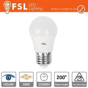 Lampada Sfera - 5,5W 6500K E27