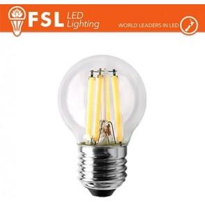 Lampada Filamento Sfera - 4W 2700K E27 400LM