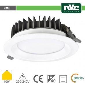 Downlight LED IP40 20W 4000K 1800LM 100º FORO:150mm