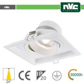 Incasso Multi lampada - 9w (1x9w) 3000k 720lm 24°