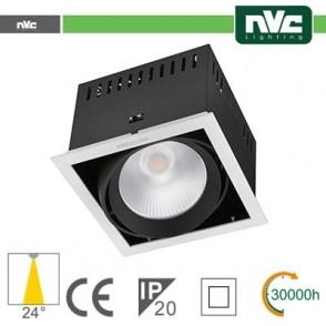 Incasso Multi lampada - 24w(1x24w) 4000k 2100lm24° CRI90