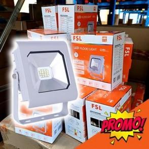 OFFERTA STOCK!!! - Proiettore per esterni 10W - 4000K IP65