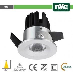 Punto Luce LED 2W 4000K 30° IP20 FORO:35mm