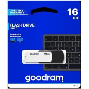 Pendrive GOODRAM Black-White 16GB USB 2.0 - retail blister