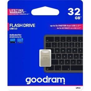 Pendrive metal GOODRAM POINT UPO3 32GB USB 3.0 - blister