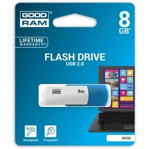 Pendrive GoodRAM 8GB UCO2 MIX USB 2.0 - retail blister