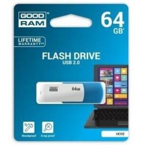 Pendrive GoodRAM 64GB UCO2 MIX USB 2.0 - retail blister