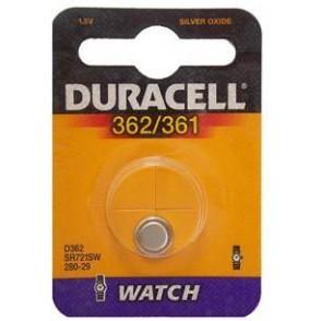 10 pile a bottone Duracell D362/361 1x 1,5volt - 10 blister