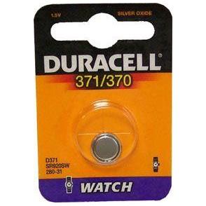 10 pile a bottone Duracell D371/370 1x 1,5volt - 10 blister