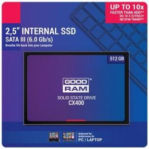 SSD GOODRAM CX400-G2 512GB SATA III 2,5 - retail box