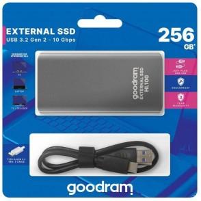 Hard disk esterno USB Type-c 256GB Goodram SSDPR-HL100-256
