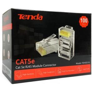 Connettore Cat5e UTP placcato oro 24K 50micron conf. 100 pz