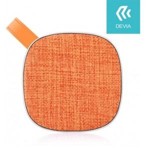 Altoparlante Bluetooth in tessuto serie Cinya Arancio