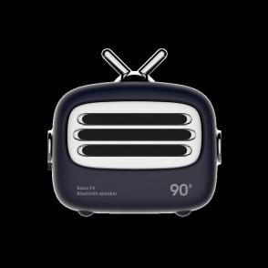 Mini altoparlante Bluetooth 4.2 vintage Blu