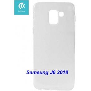 Custodia protettiva morbida per Samsung J6 2018 trasparente