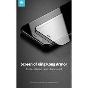 Pellicola Vetro Temperato per iPhone 11 Full screen Nera
