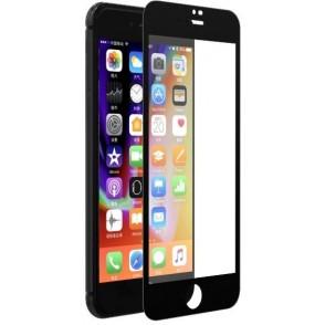 Pellicola Vetro temperato Full 0.18 mm iPhone 7/8 Plus Nera