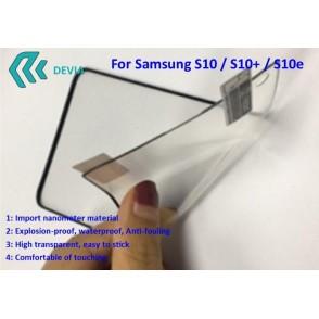 Pellicola Protezione Full Samsung S10+ Explosion-proof Nera