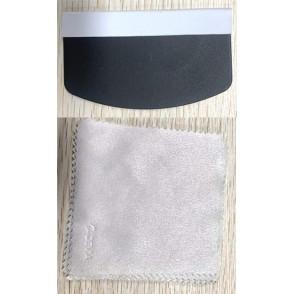 Set 100 panni pulizia in fibra e 20 Spatole stendi pellicole