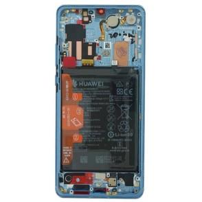 Lcd per Huawei P30 Pro Service Pack 02352PGE Aurora blue