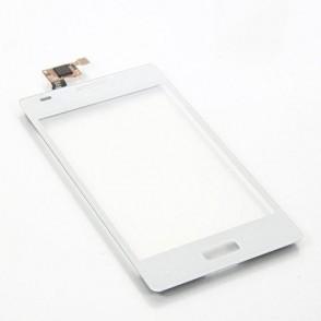 Vetro Touch Screen per LG E610 Optimus L5 Bianco
