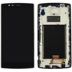 Lcd Originale per LG G4 H815 con Frame Nero