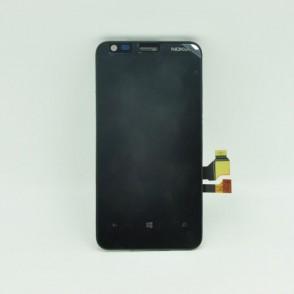 Lcd Assemblato con Frame per Nokia Lumia 620