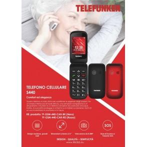 Telefono Cellulare S440 Telefunken con Lcd 2.4