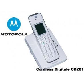 Telefono Cordless Digitale Motorola CD201