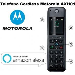 TELEFONO CORDLESS MOTOROLA CON ALEXA AXH01