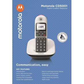 Telefono Cordless Digitale Motorola CD5001