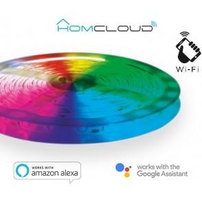 Striscia LED RGB + Bianco caldo wi-fi Kit dimmerabile 3m