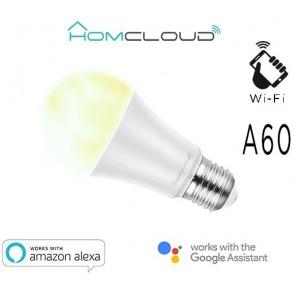 Lampadina Wi-Fi Bianco CCT E27 A60 dimmerabile