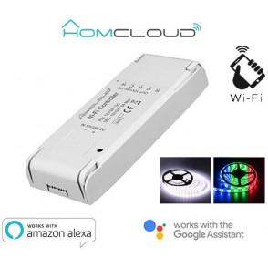 Controller Strisce LED Wi-Fi 12-24V RGB + white