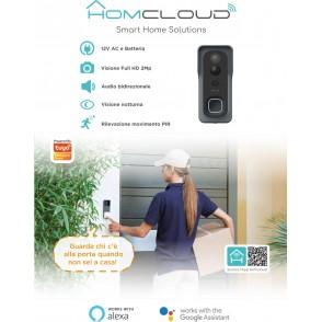 Pannello Info da banco in cartoncino Videocitofono wi-fi