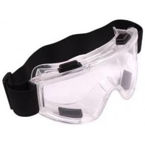 Occhiali Protettivi con Fascia Elastica - Trasparenti  69637