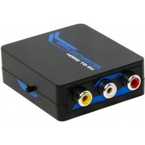 Mini Convertitore Video da HDMI a CVBS + Audio, HDMI1.3